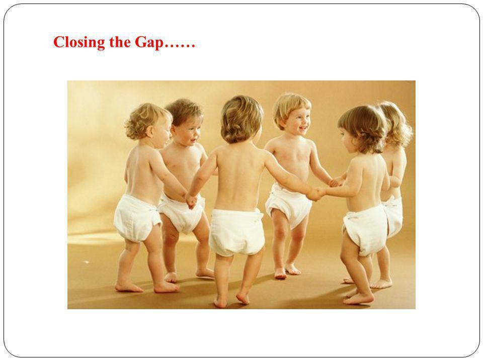 Closing the Gap……