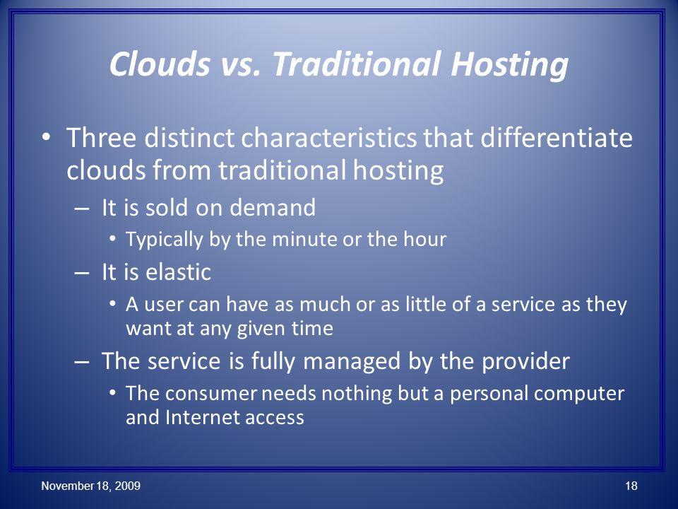 Clouds vs.