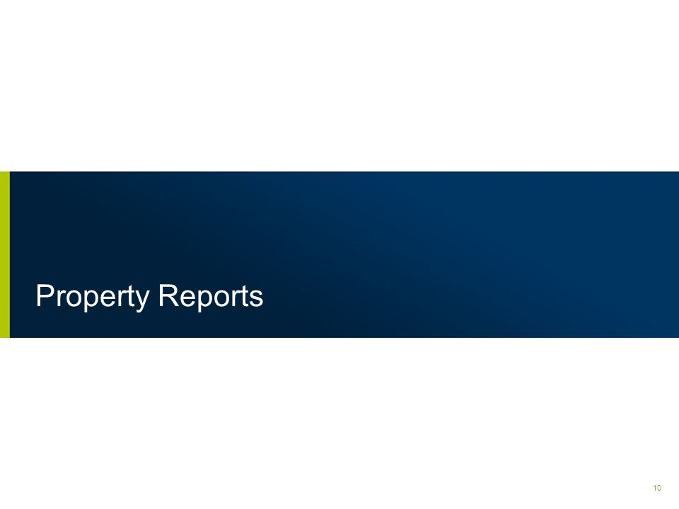 Introduction to QPR Using the LRA / QPR system: 1.The GM should analyze the Property Reports to understand deficiencies & strengths of their operation