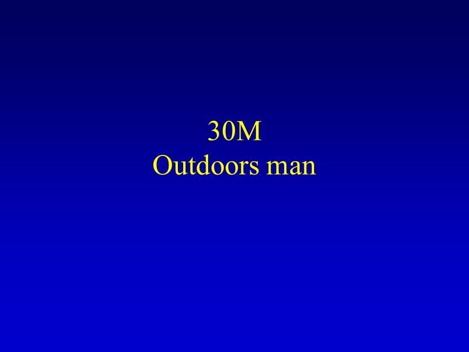 30M Outdoors man