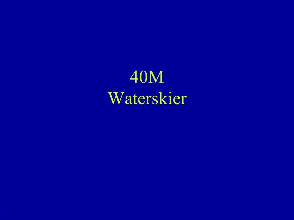 40M Waterskier 1