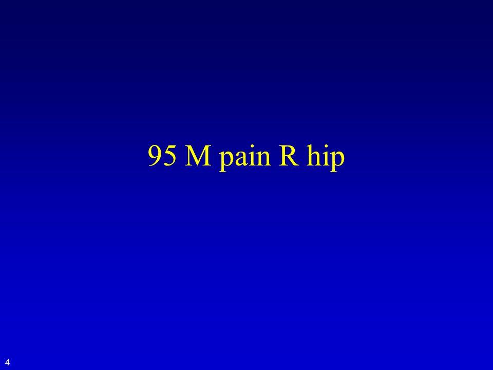 95 M pain R hip 4