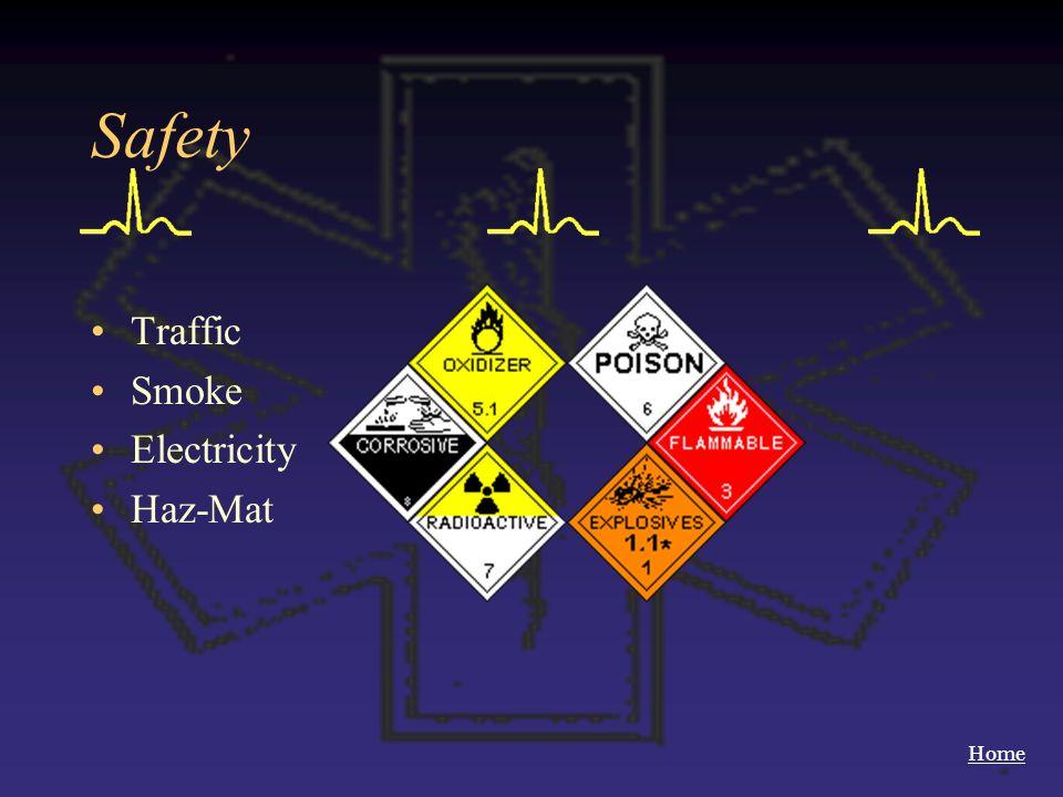 Home Safety Traffic Smoke Electricity Haz-Mat