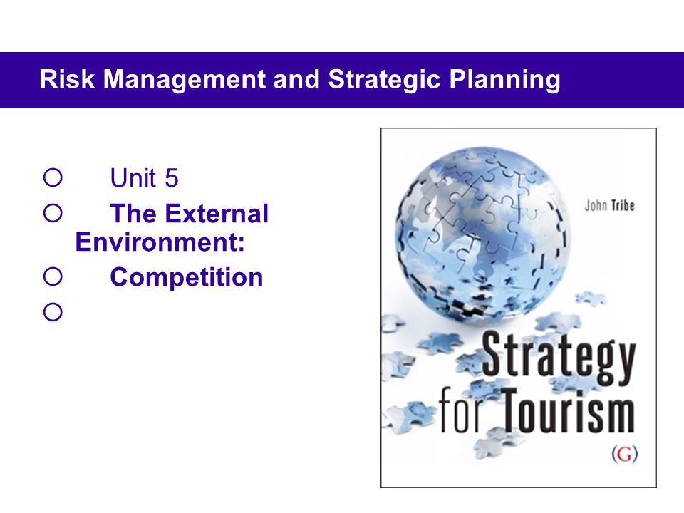 Unit 5 The External Environment: Competition Risk Management and Strategic Planning