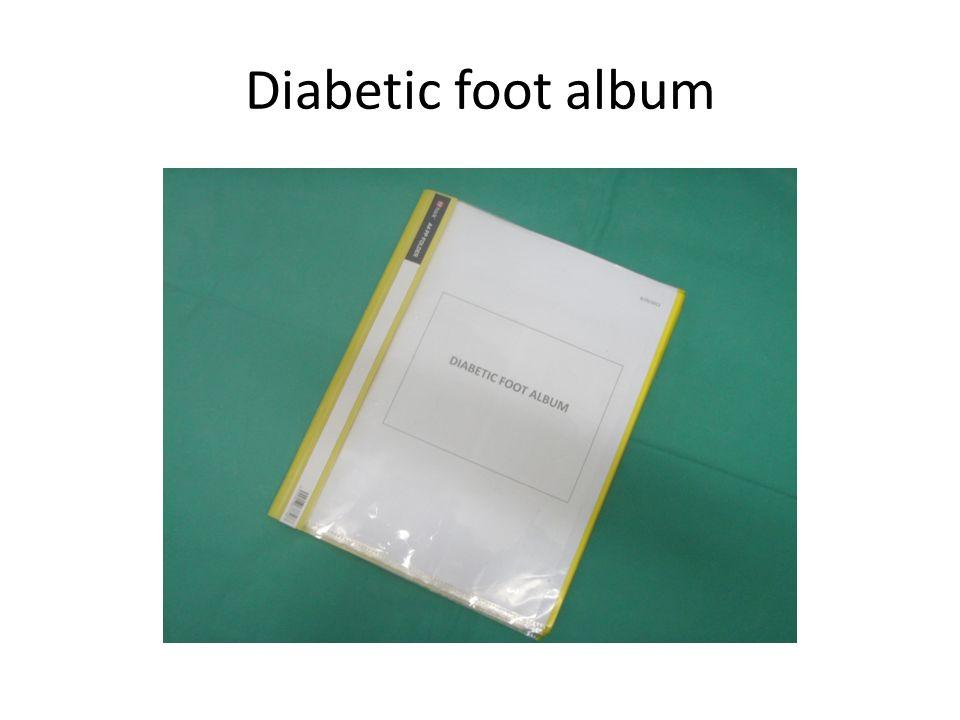 Diabetic foot album