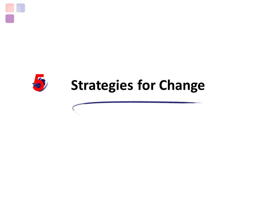 Strategies for Change 5