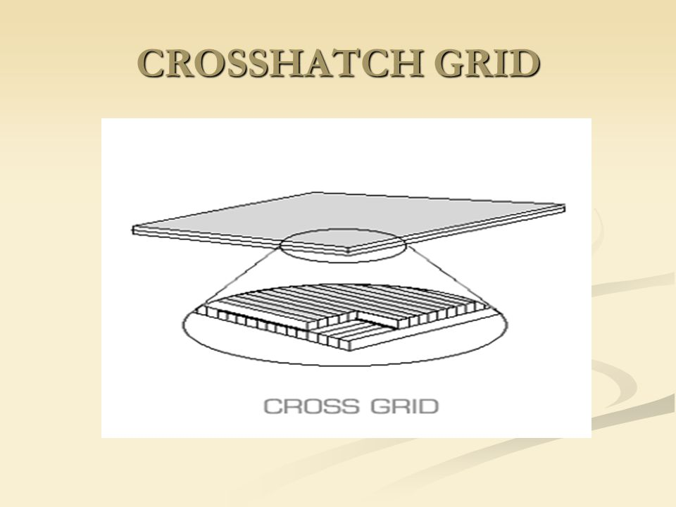 CROSSHATCH GRID