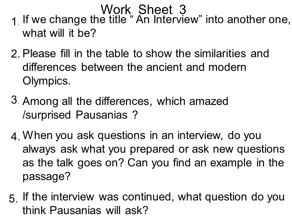 16 Round Three Intensive Reading Please read the passage carefully and finish the tasks on work sheet 3.