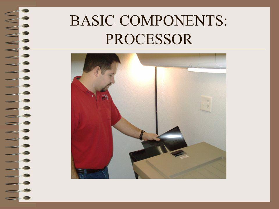 BASIC COMPONENTS: PROCESSOR