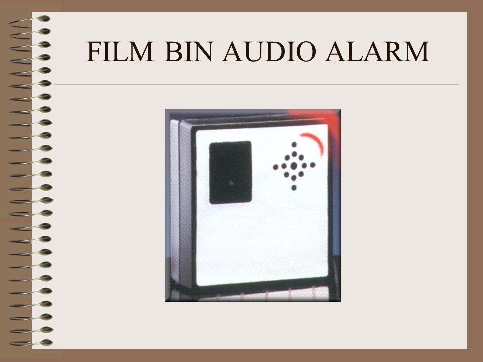 FILM BIN AUDIO ALARM