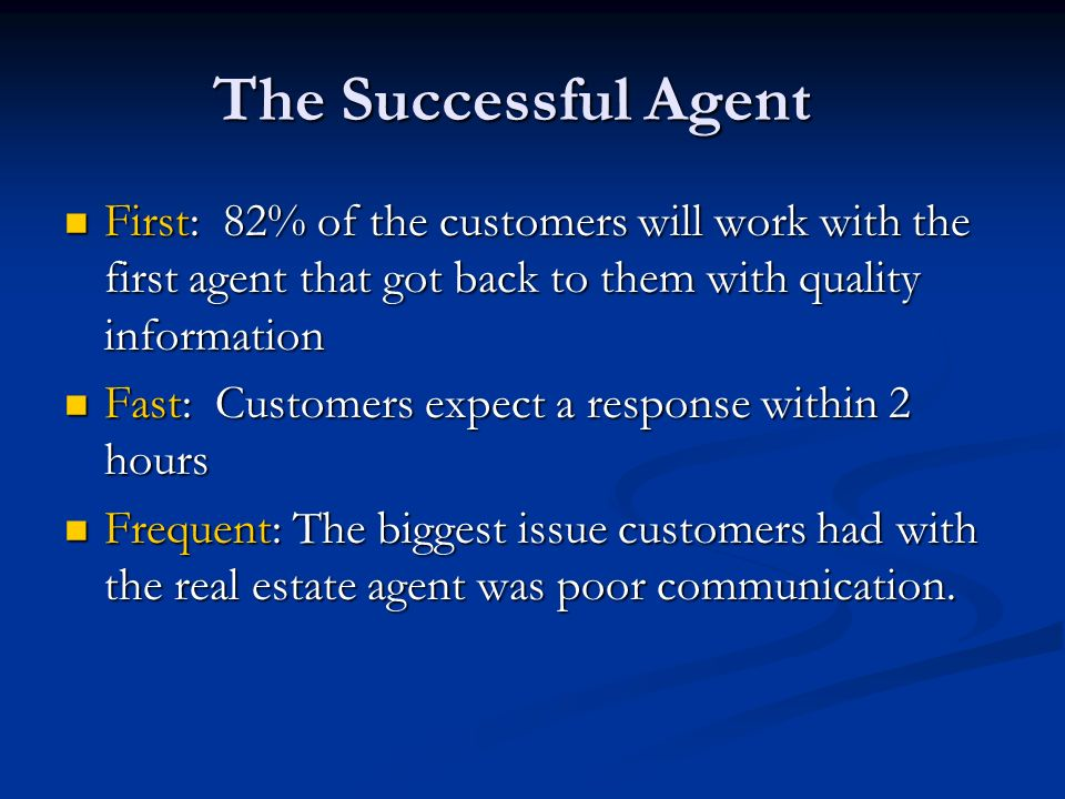 How do your agents stack up.