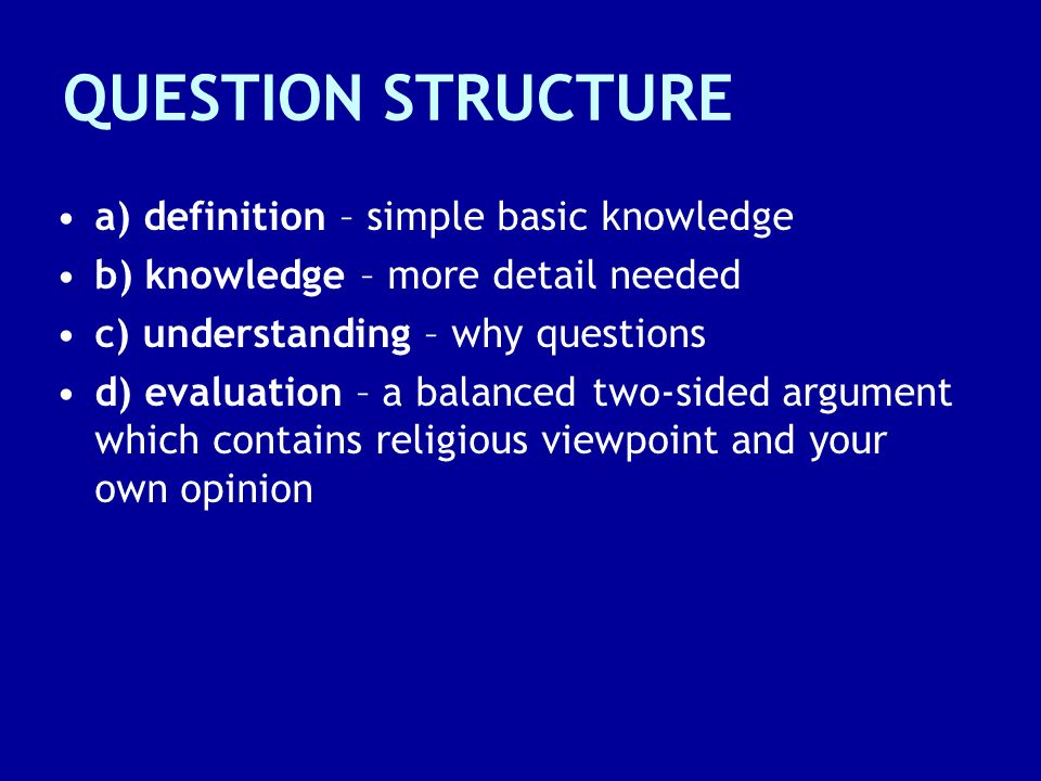 PART (a) QUESTIONS These are short-answer knowledge questions, for example, What is environment.