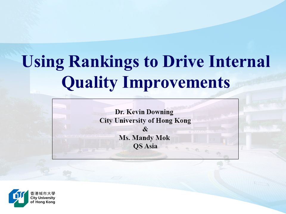 2 Presentation Outline 1 Whats Wrong With Rankings.