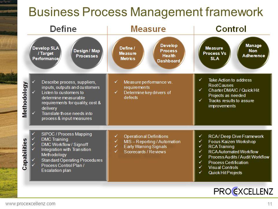 www.procexcellenz.com 11 Business Process Management framework
