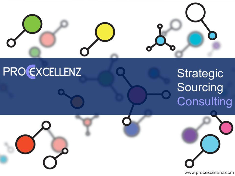 www.procexcellenz.com Strategic Sourcing Consulting www.procexcellenz.com