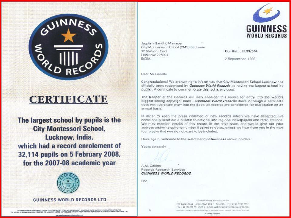 CITY MONTESSORI SCHOOL & DEGREE COLLEGE LUCKNOW, INDIA