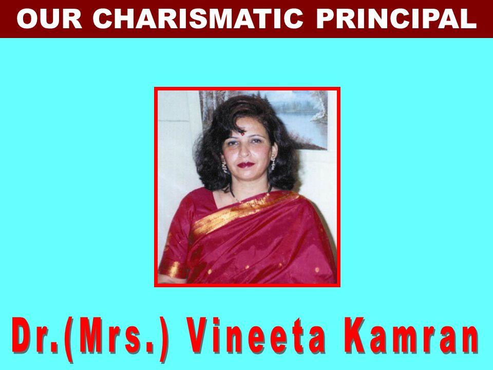 DR. JAGDISH GANDHI FOUNDER MANAGER,CMS DR. (MRS.) BHARTI GANDHI FOUNDER DIRECTOR, CMS