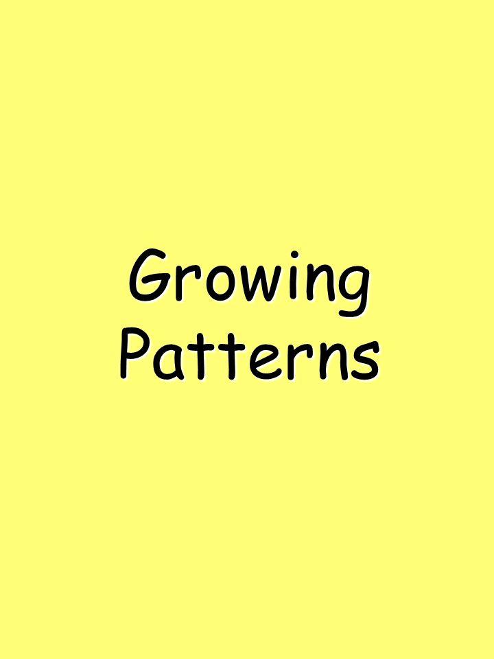 GrowingPatterns