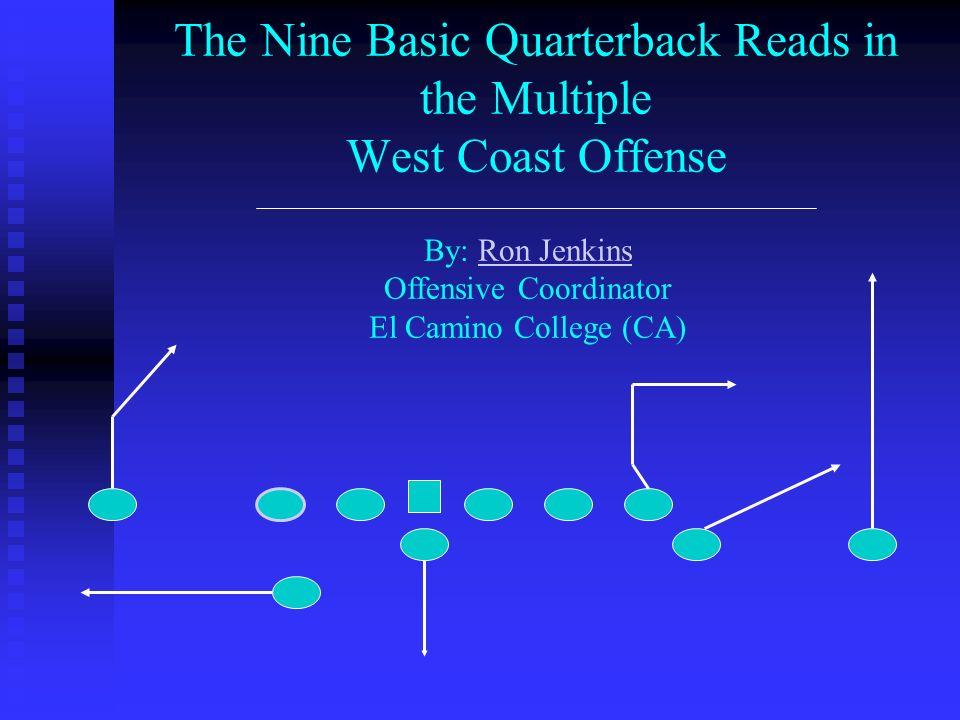 The Slant – Flat / Swing Drop The Quarterbacks specific drop is dependant on the flat defenders leverage.
