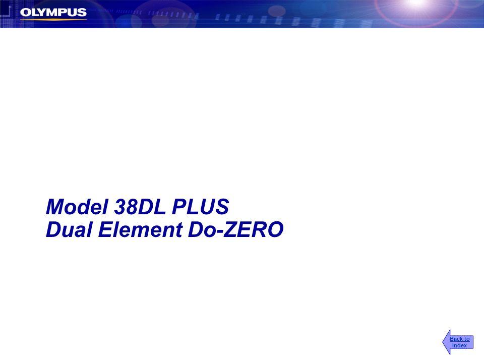 Model 38DL PLUS Dual Element Do-ZERO Back to Index
