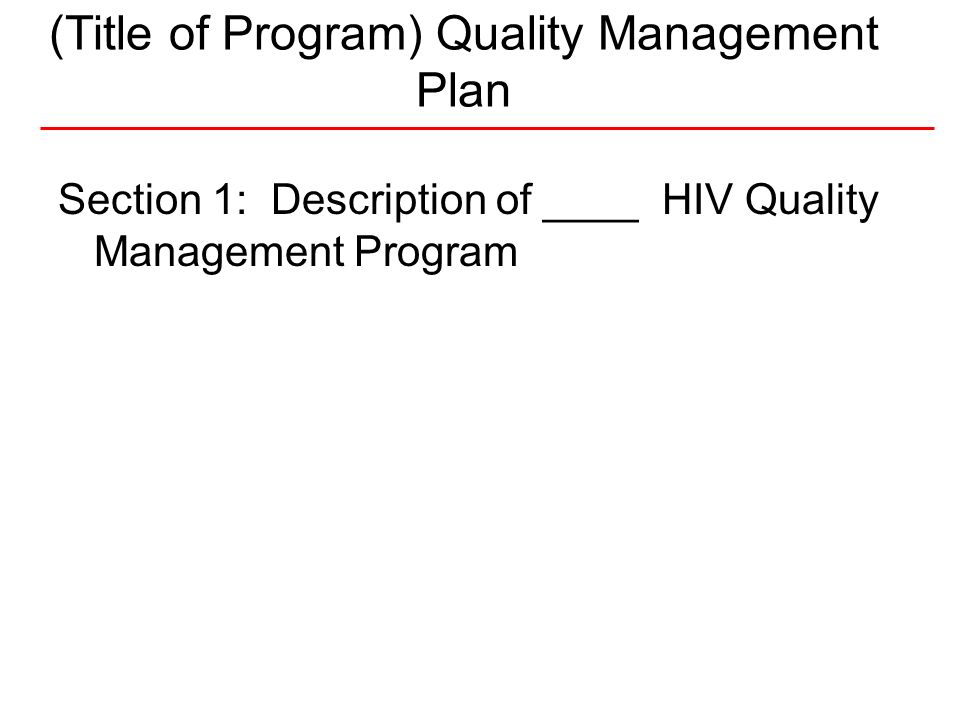 11National Quality Center (NQC) I.1.Quality Statement What do we want to be.