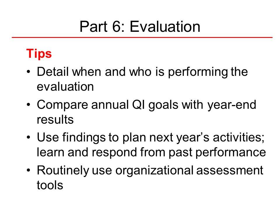 49National Quality Center (NQC) 10 QM Plan Tips 1.Do not reinvent the wheel, use established frameworks to get started 2.Steal Shamelessly, Share Senselessly 3.Size does not matter.