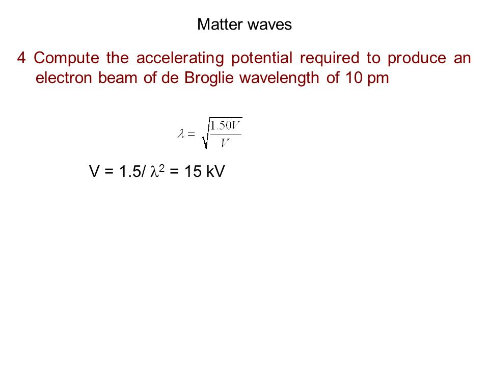 Infinite potential well 9 An electron is trapped in an infinitely deep one-dimensional potential well of width 0.251 nm.