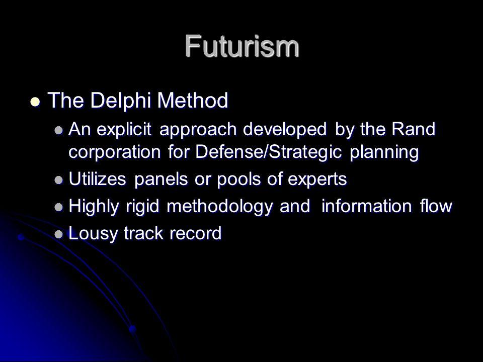 Futurism Anticipatory thinking (futures) Anticipatory thinking (futures) Causal layered analysis (CLA) Causal layered analysis (CLA) Environmental sca