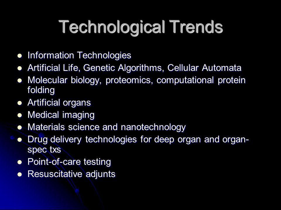 Enough CYA, Dog Step One In This Fools Errand: Step One In This Fools Errand: Identify Trends: Identify Trends: Technological trends Technological tre