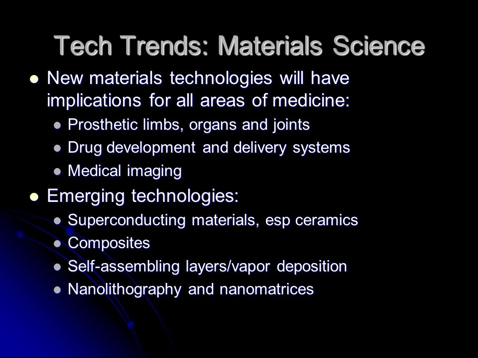 Tech Trends: Drug Delivery Organ/tissue-specific delivery systems Organ/tissue-specific delivery systems Ability to deliver engineered or recombinant