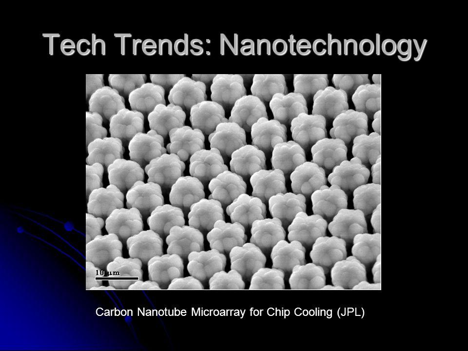 Tech Trends: Nanotechnology Carbon nanotube deposits carbon on a diamond matrix.