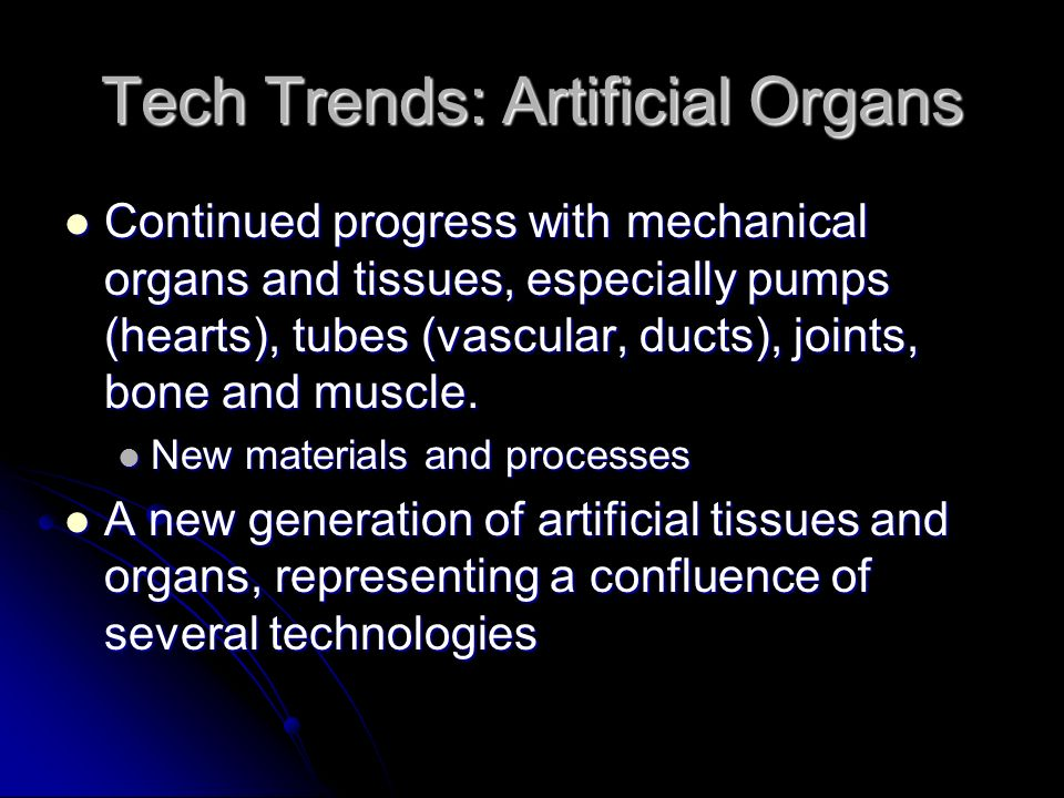 Tech Trends: Nanotechnology Challenges: Challenges: New technologies always mandate new skill sets New technologies always mandate new skill sets Some