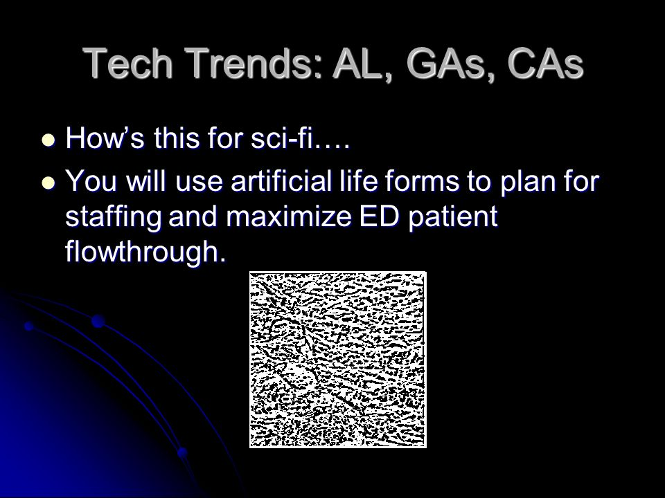 Tech Trends: Resuscitative Adjuncts Synthetic oxygen carriers Synthetic oxygen carriers Hypothermia Hypothermia Reperfusion cocktails Reperfusion cock