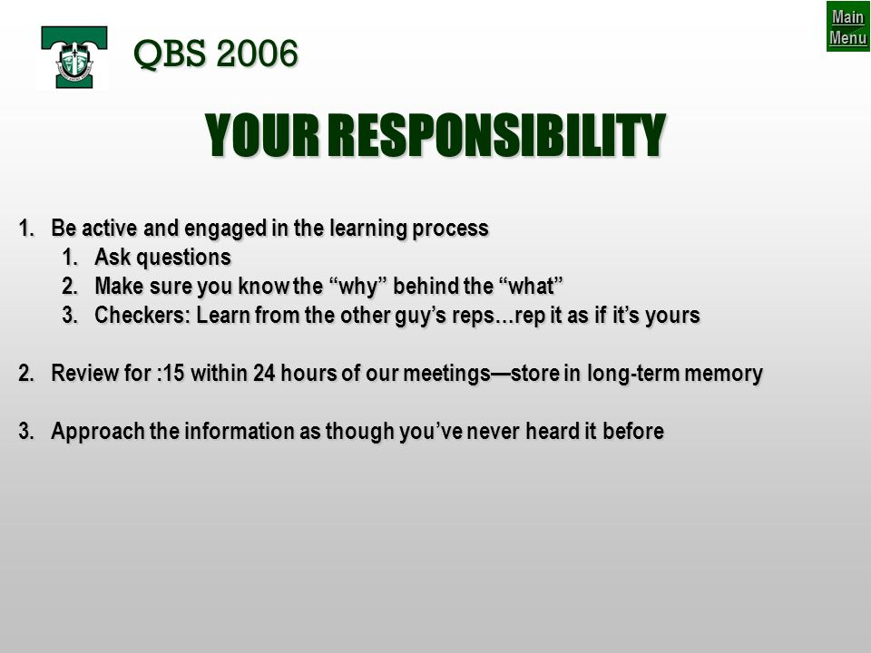 PASSING GAME: Post-snap decision terms Danger Player:Defender not accounted for in your read that can intercept if not accounted for…often inside or in front of your read *Often the ILB on Quick throws and/or in 1 safety defenses; *Often the safety on 60-70 throws and/or in 2 safety defenses AN INDECISIVE QUARTERBACK IS A QUARTERBACK THAT WONT PLAY AT TRINITY.