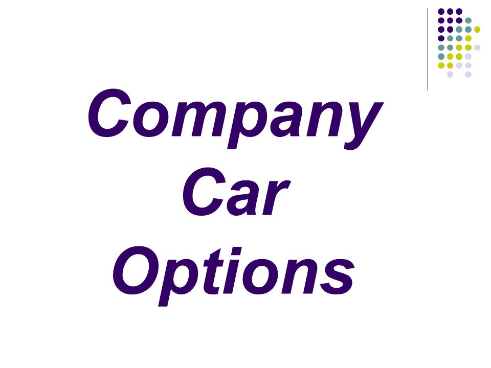 Company Car Options