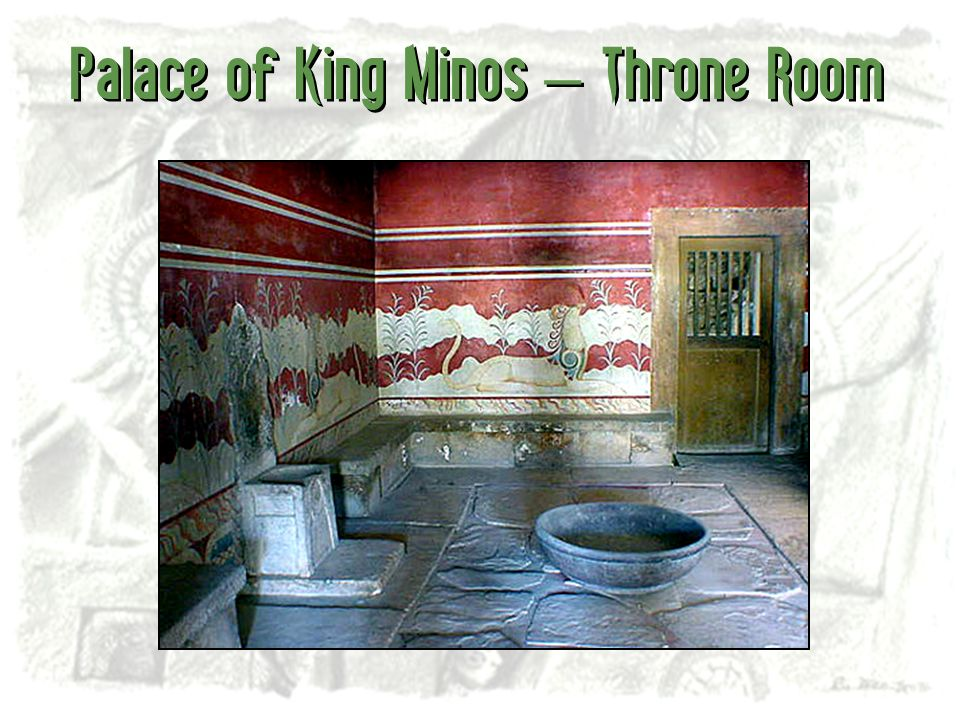 Palace of King Minos – Throne Room