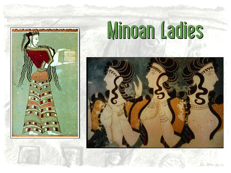 Minoan Ladies