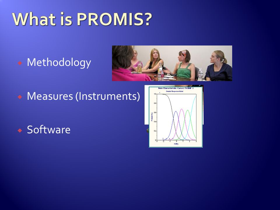 Methodology Measures (Instruments) Software