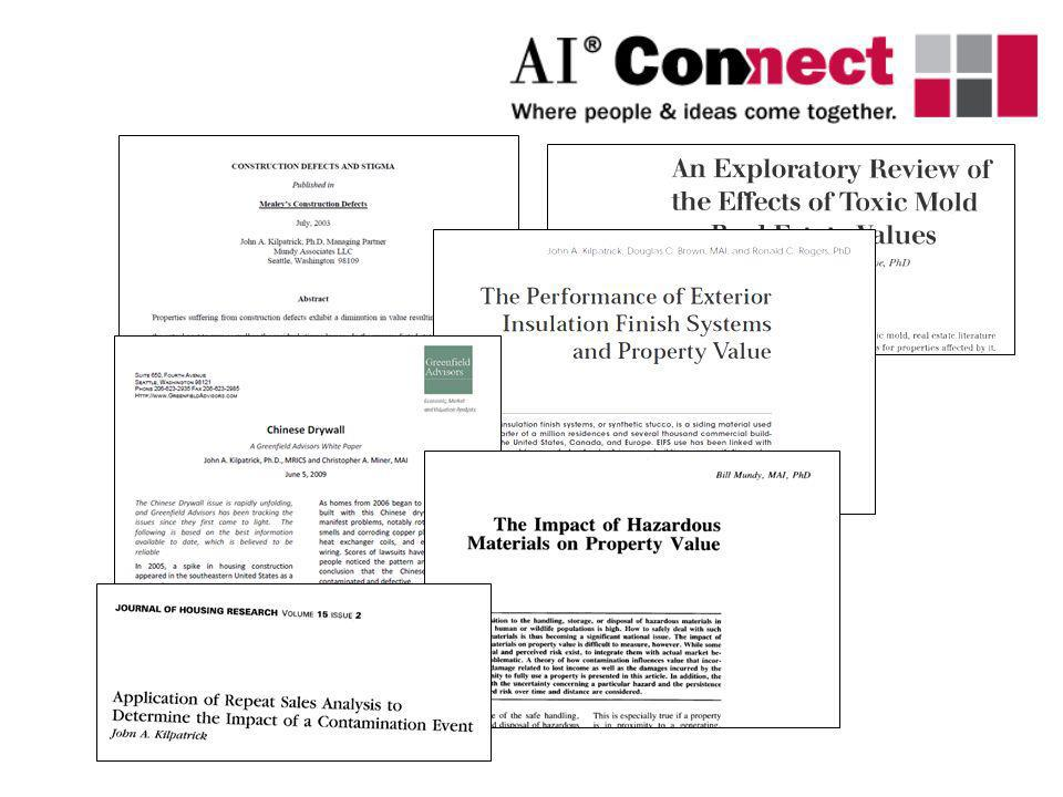 Expert Systems The appraiser, faced with a set of data and a set of prior observations about the underlying market, uses fuzzy logic to formulates a maximum likelihood estimator to determine the true value of the property.