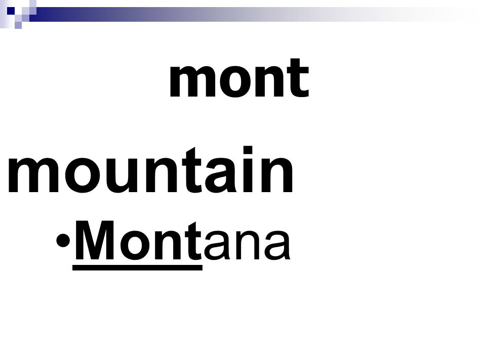 mont mountain Montana