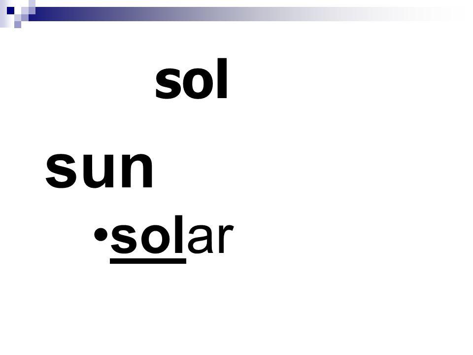 sol sun solar