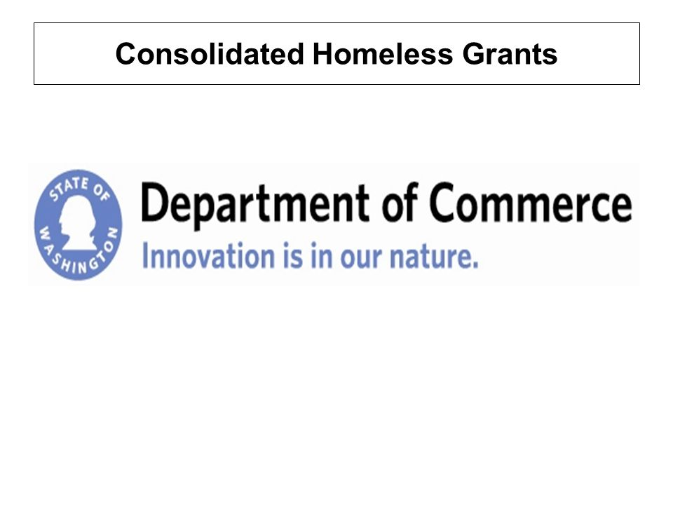 Consolidated Homeless Grants