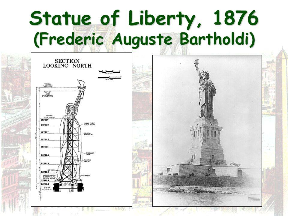 Statue of Liberty, 1876 (Frederic Auguste Bartholdi)