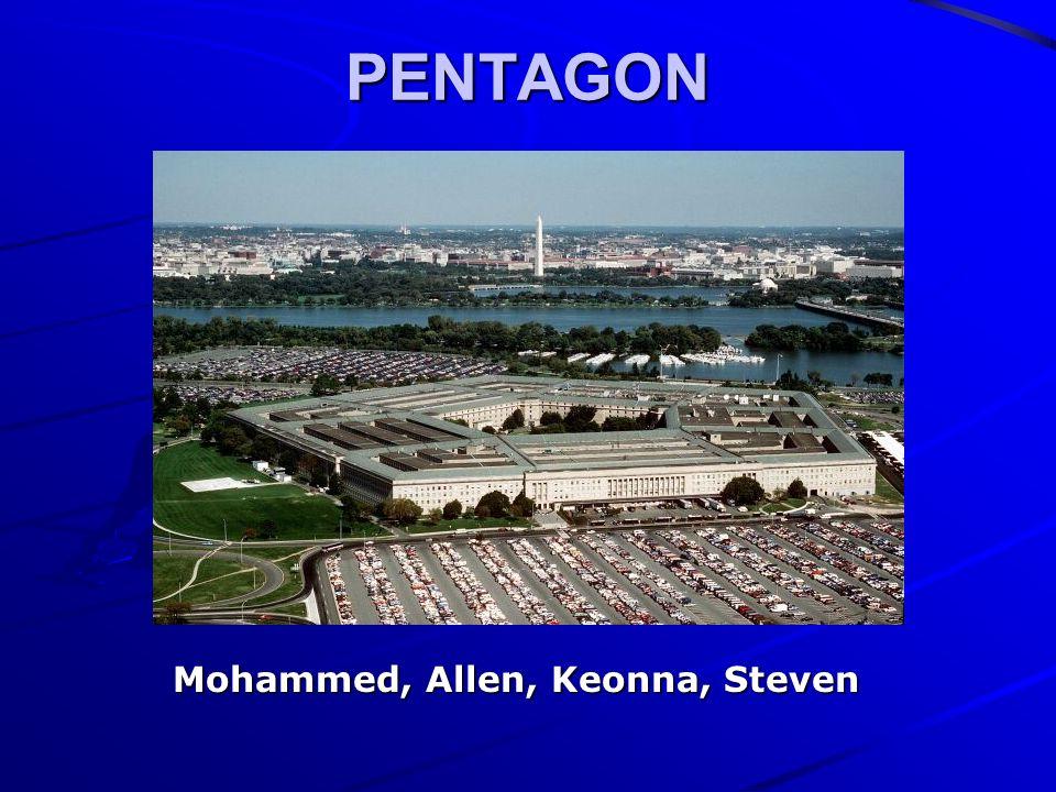 PENTAGON Mohammed, Allen, Keonna, Steven Mohammed, Allen, Keonna, Steven