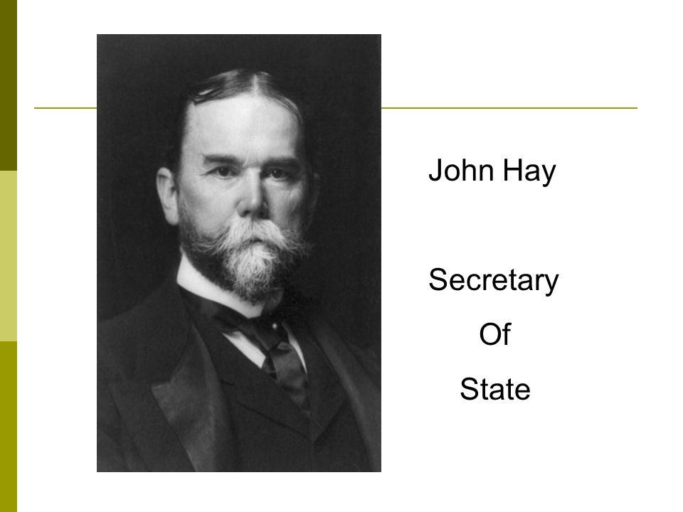 John Hay Secretary Of State
