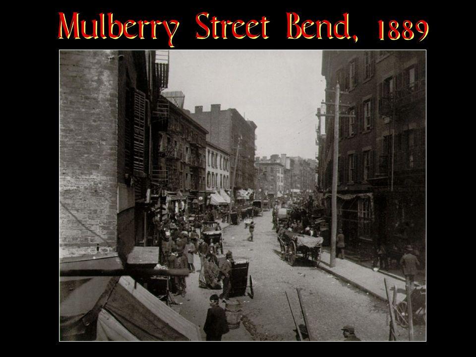 Mulberry Street Bend, 1889