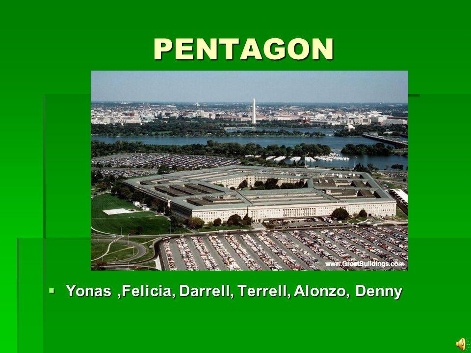 PENTAGON PENTAGON Yonas,Felicia, Darrell, Terrell, Alonzo, Denny Yonas,Felicia, Darrell, Terrell, Alonzo, Denny