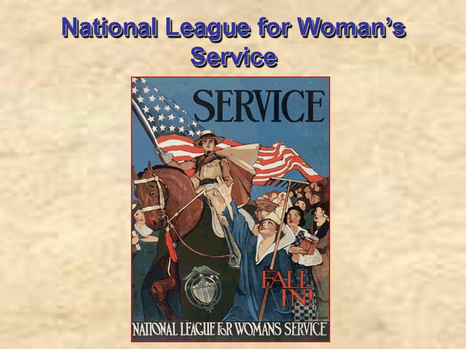 National League for Womans Service