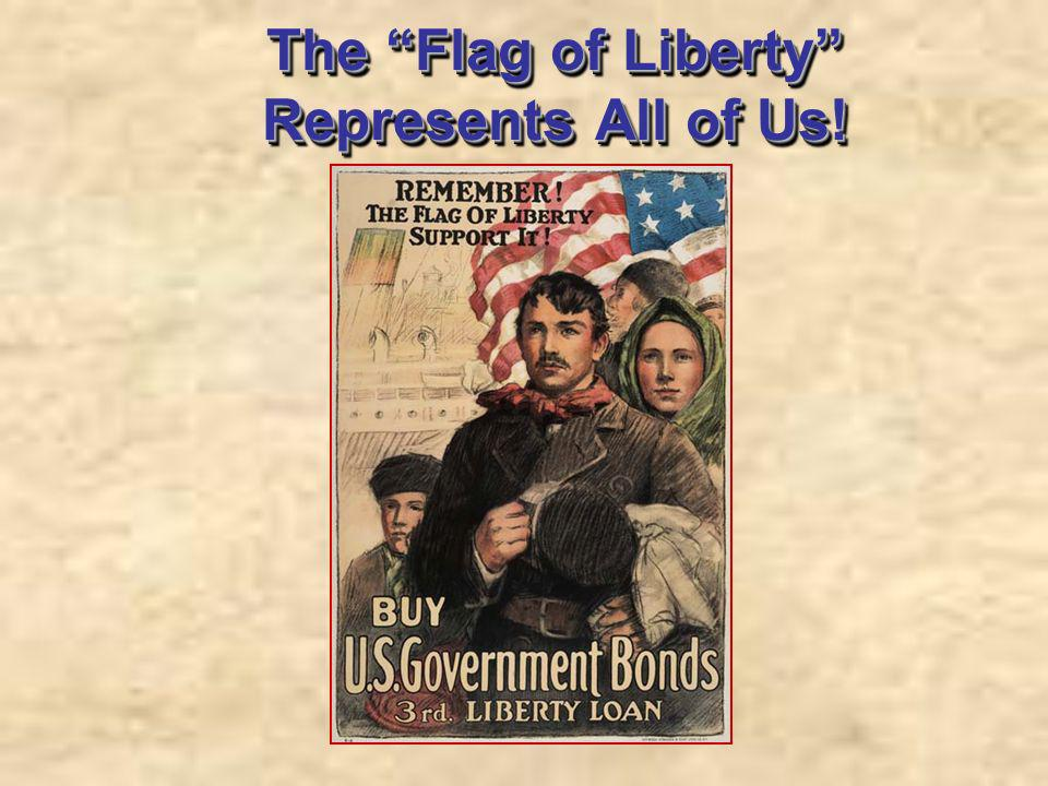 The Flag of Liberty Represents All of Us!