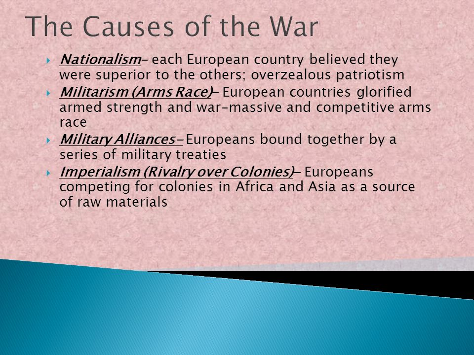 The United States in WW I From Neutrality to War